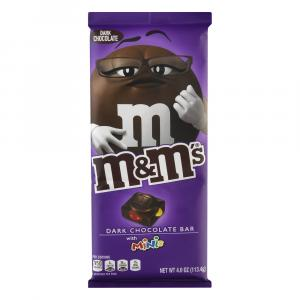 M&M's Dark Chocolate Bar with Minis