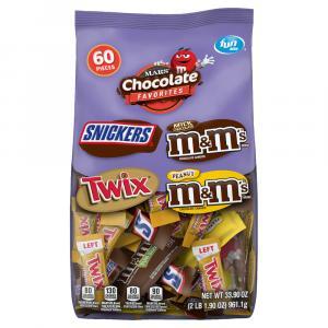 Mars Mixed Chocolate Variety Fun Size