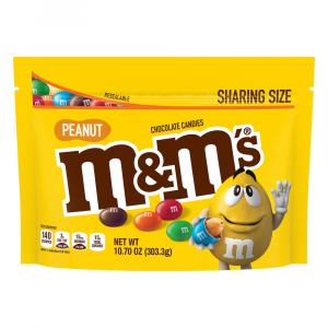 M&M's Peanut Chocolate Candies Snack Size