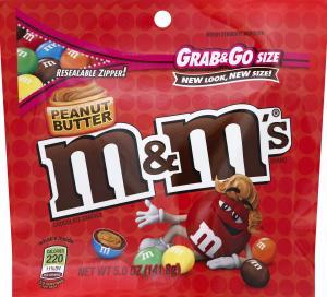 M&m's Peanut Butter Grab N Go