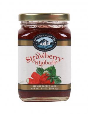 Mother's Mountain Strawberry Rhubarb Jam