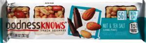 Goodness Knows Nut & Sea Salt Single Bar