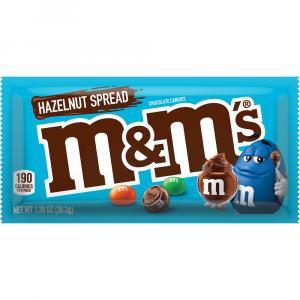 M&M's Hazelnut Spread Single Size Chocolate Candies