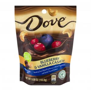 Dove Dark Chocolate Blueberry & Vanilla Cashews