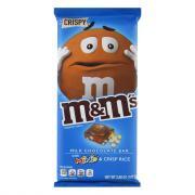 M&M Milk Chocolate Bar with Minis & Crisp Rice