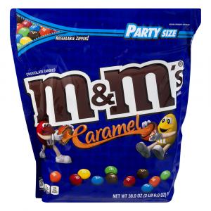 M&M's Caramel Party Size Candies