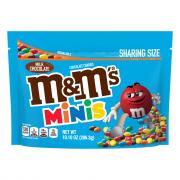 M&M's Milk Chocolate Minis Candies Snack Size