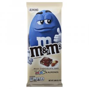 M&M Milk Chocolate Bar with Minis & Almonds