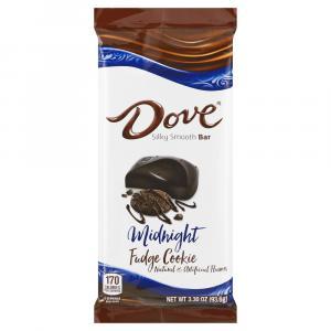 Dove Midnight Fudge Cookie Chocolate Bar
