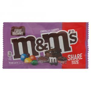 M&Ms Fudge Brownie Share Size
