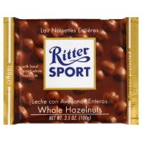 Ritter Sport Voll-Nuss (Milk Chocolate with Whole Hazelnuts)