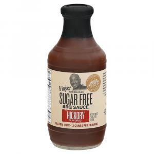 G Hughes Sugar Free BBQ Sauce Hickory Flavored