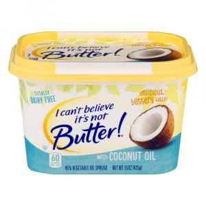 I Can't Believe It's Not Butter Coconut Spread