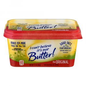 I Can't Believe It's Not Butter It's Original Spread