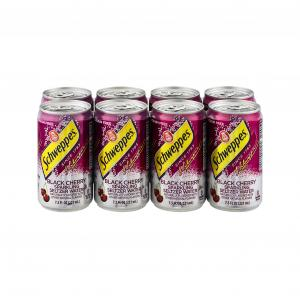 Schweppes Black Cherry Seltzer Water