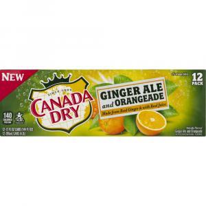 Canada Dry Ginger Ale & Orangeade