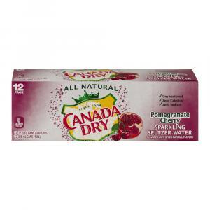 Canada Dry Pomegranate Cherry Seltzer
