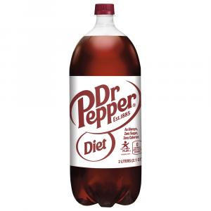 Dr. Pepper Sugar Free Soda