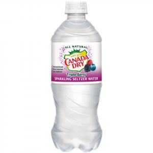 Canada Dry Triple Berry Sparkling Water