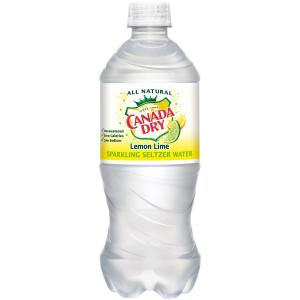 Canada Dry Lemon Lime Sparkling Water
