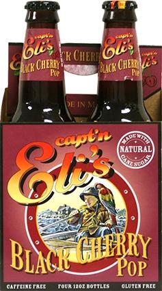 Capt'n Eli's Black Cherry Soda