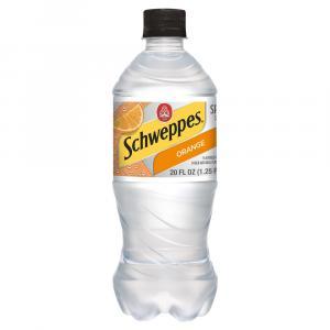 Schweppes Orange Seltzer Water