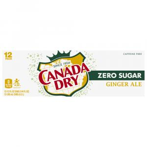 Canada Dry Zero Ginger Ale