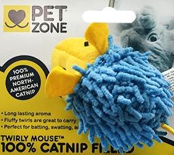 Pet Zone Twirly Mouse Cat Toy