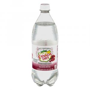 Canada Dry Pomegranate Cherry Seltzer Water