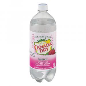 Canada Dry Raspberry Seltzer Water