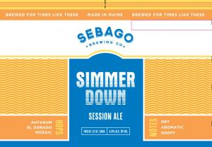 Sebago Simmer Down Session Ale