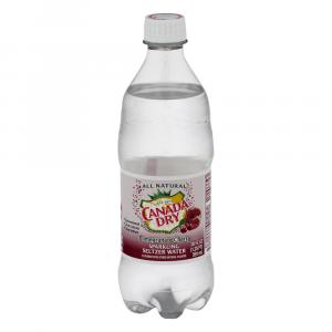 Canada Dry Pomegranate Cherry Sparkling Water