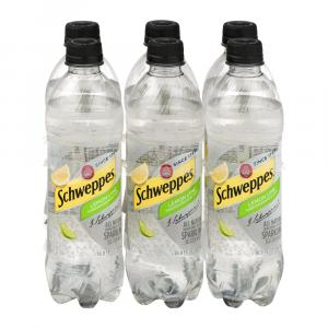 Schweppes Lemon Lime Seltzer Water