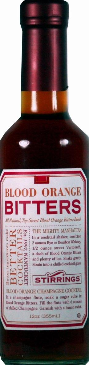 Stirrings Nantucket Blood Orange Bitters