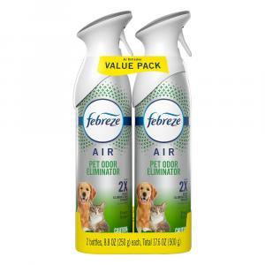 Febreze Air Heavy Duty Pet Odor Defense Twin Pack