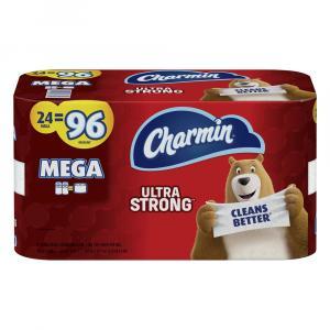 Charmin Ultra Strong Bathroom Tissue Mega Roll