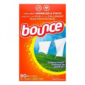 Bounce Outdoor Fresh Fabric Softener Sheets