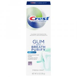 Crest Gum and Breath Purify Fresh Mint Toothpaste