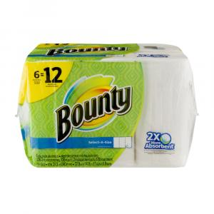 Bounty Select-a-size White Paper Towels