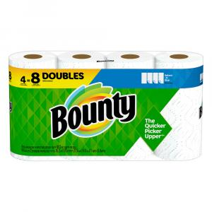 Bounty Select a Size White Double Roll Paper Towels