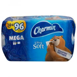 Charmin Ultra Soft Bathroom Tissue Mega Roll