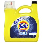 Tide Simply Oxi 74 Loads