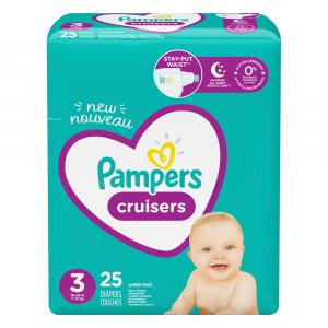 Pampers Size 3 Cruisers Jumbo Pack