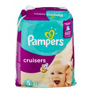 Pampers Size 5 Cruisers Jumbo Pack