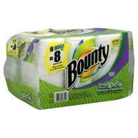 Bounty Prints Big Roll Paper Towels