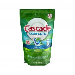 Cascade Complete Fresh Scent Actionpacs Dishwasher Detergent