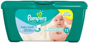Pampers Baby Fresh Wipes Tub