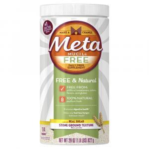 Metamucil Free & Natural Daily Fiber Supplement