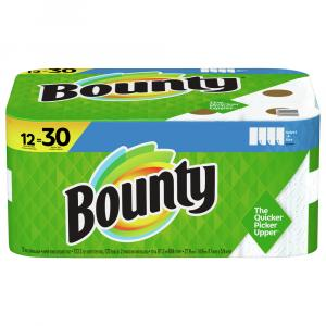 Bounty White Select a Size Double Plus Roll Papar Towels