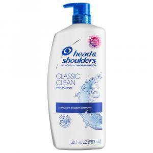 Head & Shoulders Classic Clean Shampoo with Pump